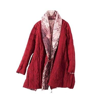 新品 Jacket 2018 Winter high-end Embroidery White Duck Down Printing Two Sides wear Short Female Down Jacket Female Winter (M)