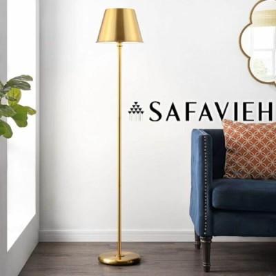フロアランプ ゴールド 輸入家具【Safavieh】フロアランプ LED コンテンポラリー Gold 照明 お洒落 エレガント 金色のデザイン インテ