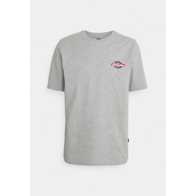 ディッキーズ Tシャツ メンズ トップス RUSTON TEE - Print T-shirt - grey melange