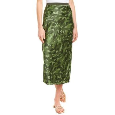 カミニューヨークシティ スカート ボトムス レディース Cami NYC Jessica Pencil Skirt forest camo