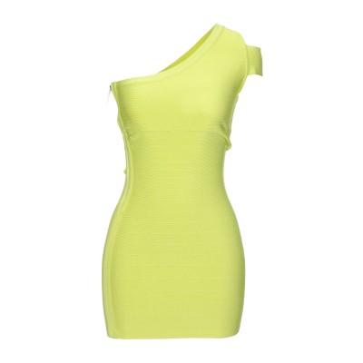 MARCIANO ミニワンピース&ドレス ビタミングリーン S レーヨン 83% / ナイロン 16% / ポリウレタン 1% ミニワンピース&ドレス