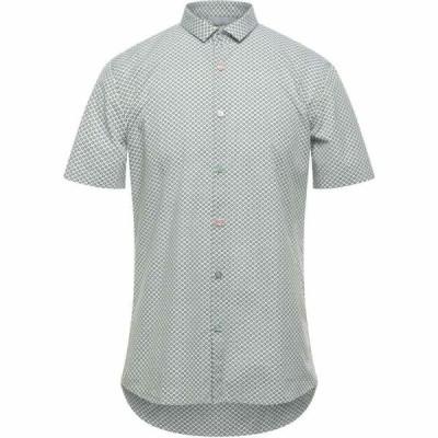 センス SSEINSE メンズ シャツ トップス patterned shirt Acid green