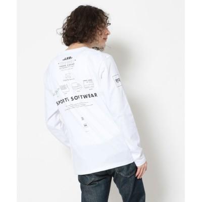 tシャツ Tシャツ SY32 by SWEETYEARS /エスワイサーティトゥバイ スィートイヤーズ /ADDRESS L/S TEE