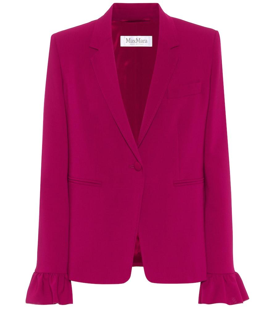 Daphne stretch-wool crêpe blazer