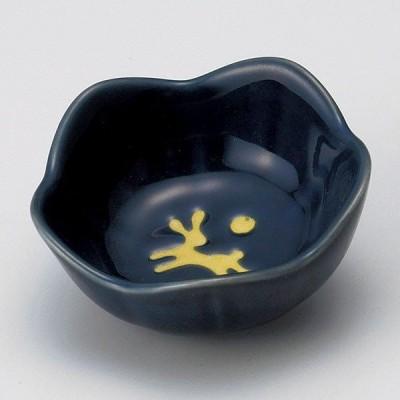 (業務用・珍味)青釉兎花型珍味(有田焼)[14604-738](入数:1)