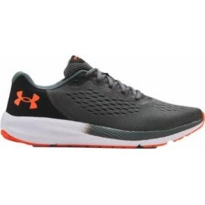 アンダーアーマー メンズ スニーカー シューズ Under Armour Men's Charged Pursuit 2 SE Running Shoes Grey/Orange
