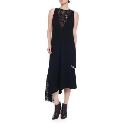 ティビ レディース ワンピース トップス Guipure Lace Sleeveless Asymmetrical Dress