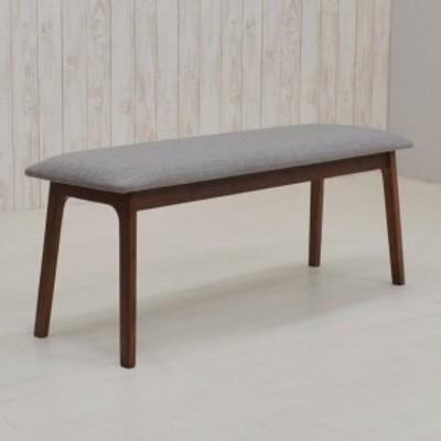 ダイニングベンチ 110cm pani110-ben-339wnlge ウォールナット ファブリック 2人 木製 長椅子 玄関ベンチ アウトレット 2s-1k-167 m80nk