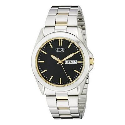 腕時計 シチズン Citizen Men's Two-Tone Bracelet Stainless Steel Watch # BF0584-56E