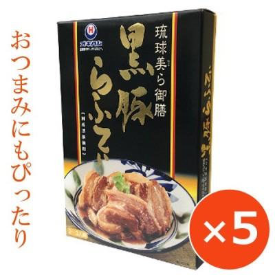 豚の角煮 豚角煮 黒豚ラフティ 琉球美ら御膳 200g×5個 オキハム 沖縄料理