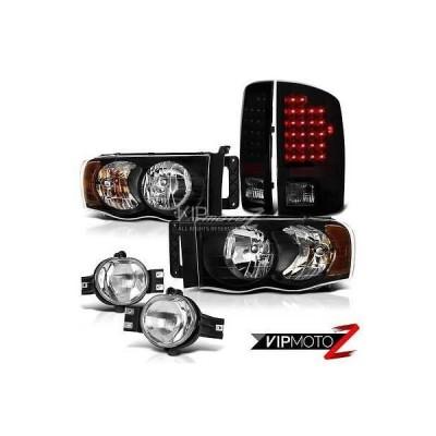 カー用品 パーツ ランプ ヴェノム *02-05*|ダッジラム|DEAL| ブラック ヘッドライト ブラック LED テールライト クローム フォグ ライト