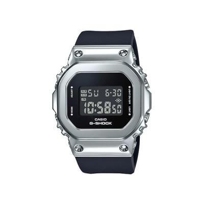 国内正規品 CASIO G-SHOCK カシオ Gショック スクエア シルバー×ブラック ユニセックス メンズ腕時計 GM-S5600-1JF
