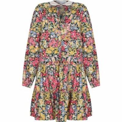 ウェアハウス Warehouse レディース ワンピース ミニ丈 ワンピース・ドレス FLORAL LONG SLEEVE MINI DRESS Multi