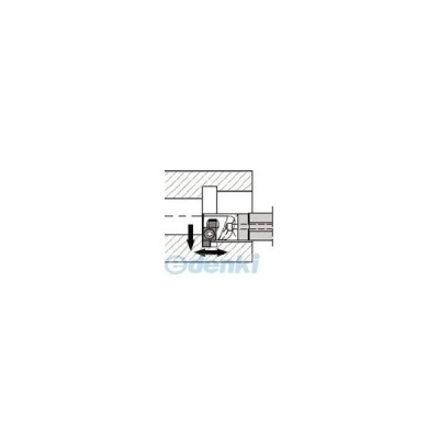 京セラ(KYOCERA)[SIGER1412C-WH-90] 溝入れ用ホルダ SIGER1412CWH90