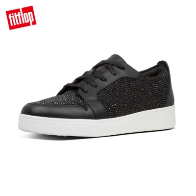 FitFlop COLLET CRYSTAL SNEAKERS休閒鞋-女(黑色)
