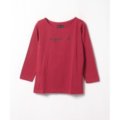 (agnes b. FEMME/アニエスベー ファム)S137 TS ロゴTシャツ/レディース レッド