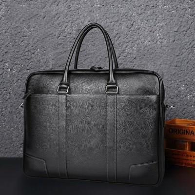 高級品 ブリーフケーストートバッグ 2way ハンドバッグ ビジネスバッグ パソコンバッグ メンズ 男性 レザー 本革 牛革 大容量 通勤鞄