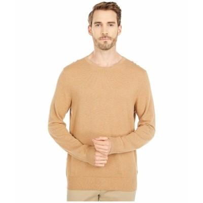ジェイクルー ニット&セーター アウター メンズ Cotton-Cashmere Piqu Crewneck Sweater Heather Raffia