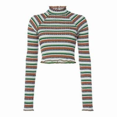 フリーピープル ニット・セーター Mirror Stripe Knitted Top multi-coloured
