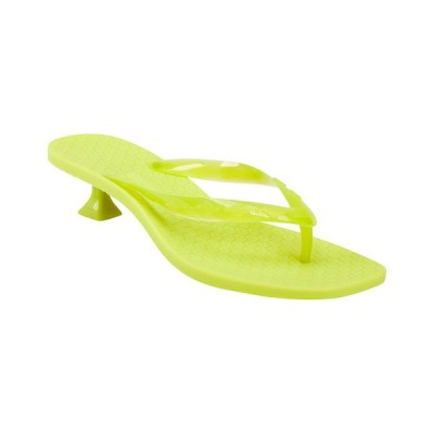 シガーソン モリソン サンダル シューズ レディース Sigerson Morrison Jewel Sandal transparent light green TPU molded