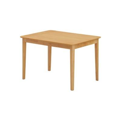 オーク材のエクステンションダイニングテーブル<2―4人用>