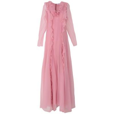 ANNA MOLINARI BLUMARINE ロングワンピース&ドレス ピンク 46 シルク 100% ロングワンピース&ドレス