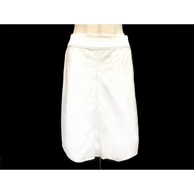 #anc ランバン LANVIN スカート 36 オフホワイト レディース [581448]