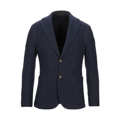 イレブンティ ELEVENTY テーラードジャケット ダークブルー 54 コットン 47% / ウール 40% / ナイロン 13% テーラードジャ