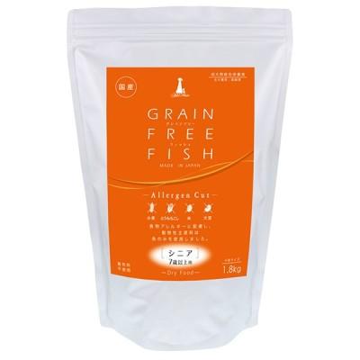 【在庫処分品】ペティオ アドメイト グレインフリー フィッシュ シニア:7歳以上用 小粒サイズ 1.8kg 国産 賞味期限:2021年7月
