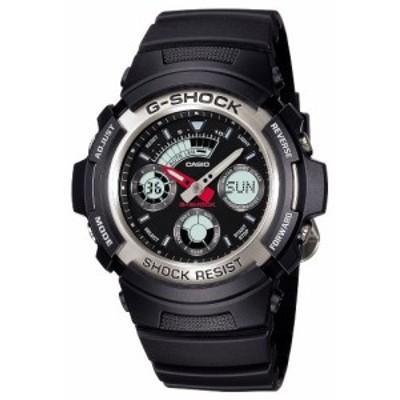 [カシオ] 腕時計 ジーショック AW-590-1AJF ブラック(中古品)