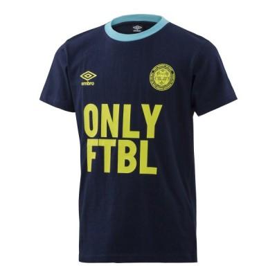 UMBRO/アンブロ UMJPJA69 サッカー ウェア(ジュニア) WRジュニア用グラフィック Tシャツ ネイビー UMJPJA69