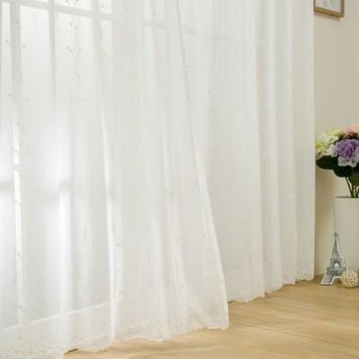 (1枚入り)レースカーテン(シェーン 100X108X1) ニトリ 『1年保証』 『玄関先迄納品』