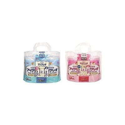【セット買い】アイクレオのバランスミルク 800g×2缶セット+フォローアップミルク 820g×2缶セット