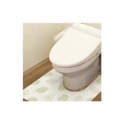 防水模様替えシート トイレ床用 90cm×80cm Gr(グリーン) BKTL-9080  キャンセル返品不可 他の商品との同梱総計3個まで