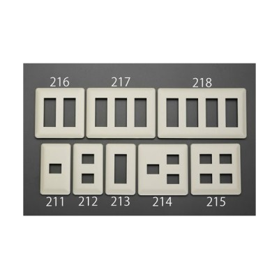 ESCOプレート(2個 /1列)[EA940CE-212]