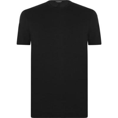 ディースクエアード DSQUARED2 メンズ Tシャツ ロゴTシャツ トップス Back Logo T Shirt Black B