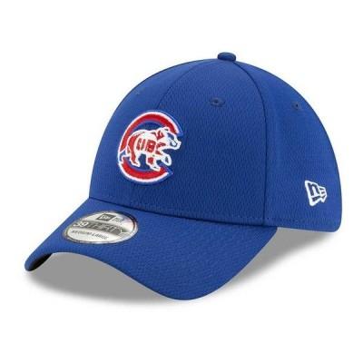 ニューエラ 帽子 アクセサリー メンズ Chicago Cubs 2020 Men's Batting Practice Cap Light Royal