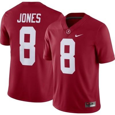 ナイキ Nike メンズ トップス ドライフィット Julio Jones Alabama Crimson Tide #8 Crimson Dri-FIT Game Football Jersey