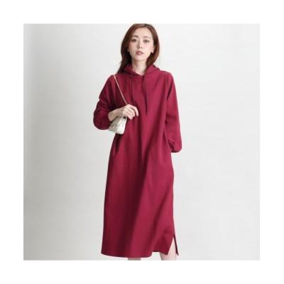 MARTHA(マーサ) ボンディングパーカーワンピース (ワンピース)Dress