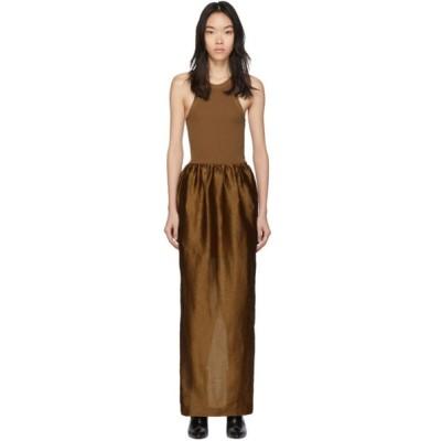 トーテム Toteme レディース ワンピース ワンピース・ドレス Brown Nonza Dress Brick