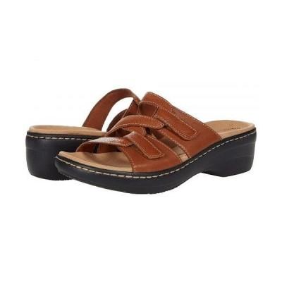 Clarks クラークス レディース 女性用 シューズ 靴 ヒール Merliah Karli - Tan Leather