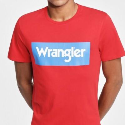 ラングラー メンズ ファッション Print T-shirt - mars red