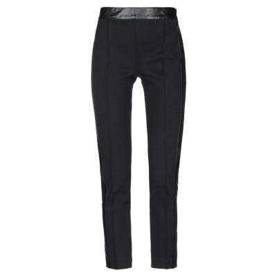 MY TWIN TWINSET パンツ ブラック XS レーヨン 68% / ナイロン 28% / ポリウレタン 4% / ポリウレタン樹脂 パンツ
