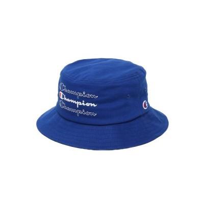 【アトモス】 チャンピオン x アトモスラボ バケットハット メンズ ブルー FREE atmos