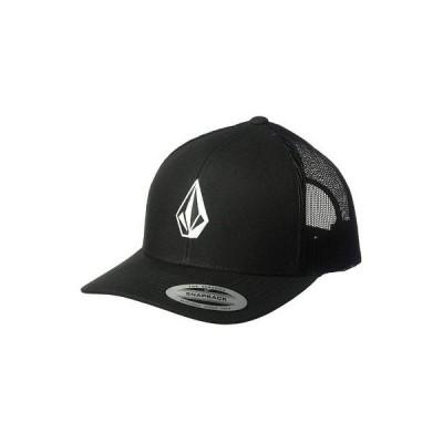 帽子 ボルコム Volcom Men's Full Stone Cheese Trucker Snapback Hat Black Cap Summer Headwear