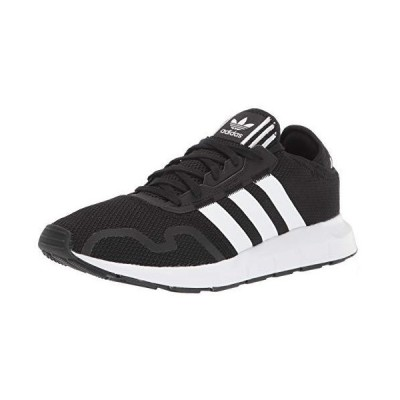 adidas Originals Men's Swift Essential Sneaker, Black/White/Black, 8.5