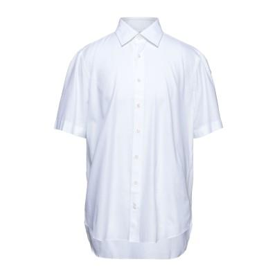 チェザーレアットリーニ CESARE ATTOLINI シャツ ホワイト 44 コットン 100% シャツ