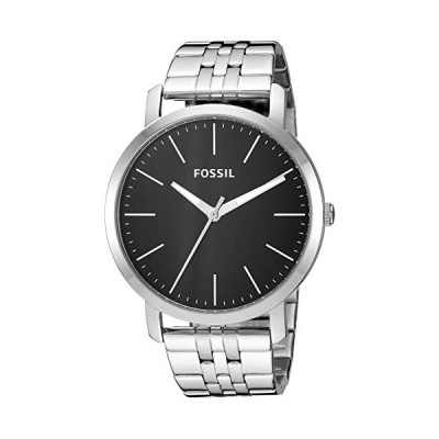 Fossil Men's Luther Quartz Stainless Steel Casual Watch, Color: Silver (BQ2312)【並行輸入品】