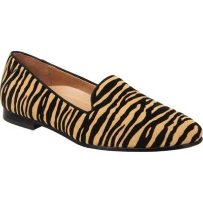 バイオニック レディース サンダル シューズ Willa Flat Loafer Natural Tiger Suede