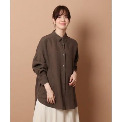 DRESSTERIOR / 【GISELe7月号掲載】ガーメントダイラミーシャツ WOMEN トップス > シャツ/ブラウス